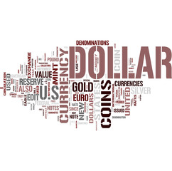 Dollars word cloud