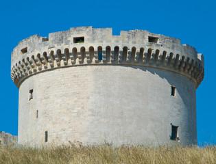 The Tramontano Castle. Matera. Basilicata.