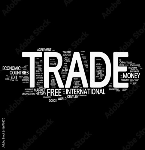Trading word cloud