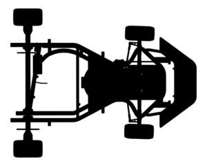 Karting Car Vector 01