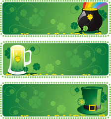 St. Patrick's Day Background - Banner