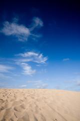sand with blue sky