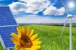 Sonne, Wolken, Himmel, Sonnenenergie, Windkraft