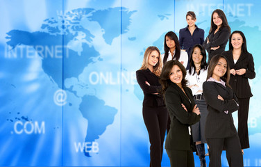 Worldwide Business women
