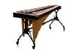Leinwanddruck Bild - Marimba on White