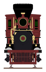 Wild West Steam Train - Front