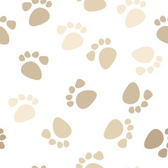 Seamless footprint wallpaper