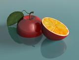 Genetically engineered apple poster