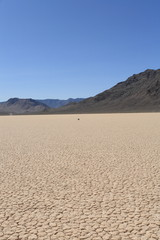 Racetrack playa, death valley national park,ca usa