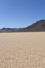 Racetrack playa, death valley national park,ca usa