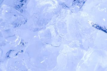 full of ice, background