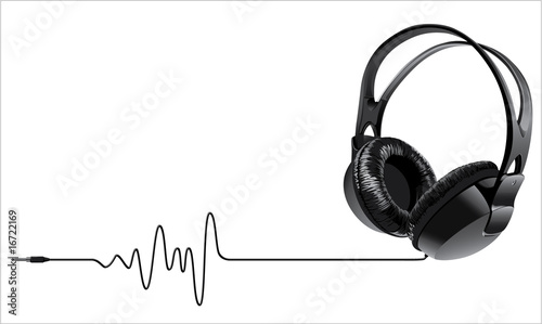 music headphones - 16722169
