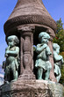 Leinwanddruck Bild - Marcus-Brunnen Bremen
