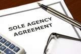 Sole Agency Agreement poster