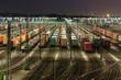 Rangierbahnhof Maschen bei Hamburg bei Nacht - 16726766