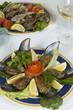 stuffed  Mussels - sea food - Mussels