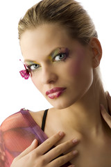the butterfly makeup