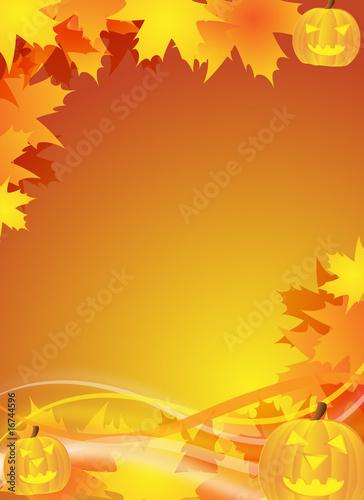 halloween flyer / background