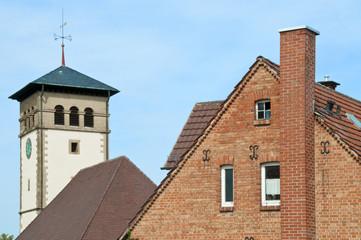 Haus und Kirche