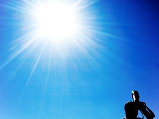 Shooting at the sun