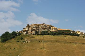 Castelluccio di Norcia. l'umbria.