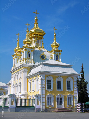 Orthodox church, Peterhof, Russia