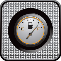 fuel gauge web icon