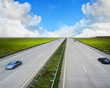 Autobahn im Sommer
