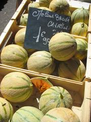 Melon and market