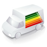 truck and energy efficiency poster