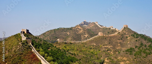 Foto op Plexiglas Chinese Muur Great Wall of China landscape view