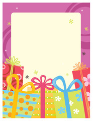 8.5x11 Gift Flyer/Poster Template