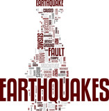 Earthquake tag cloud