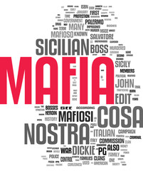 Mafia tag cloud