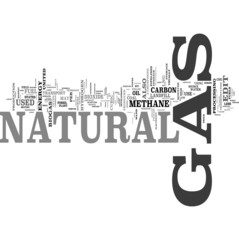 Natural Gas tag cloud