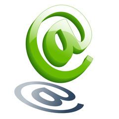 e-mail green