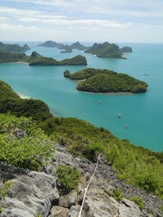 Ang Thong National Park in Koh Samui