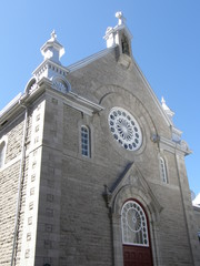 Church in Quebec City, Canada