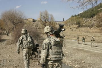 American Soldiers in Afghanistan
