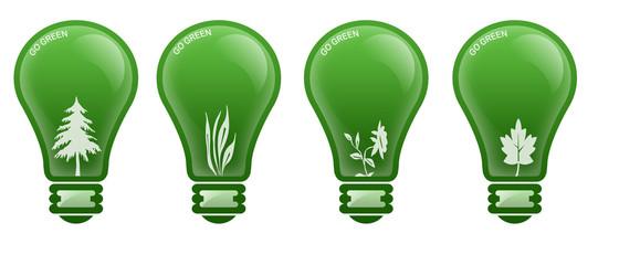 Go Green Lamp