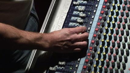 DJ sound mixer