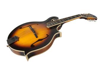 Bluegrass Mandolin Isolated on White background