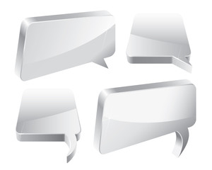 Speech Bubbles 3D