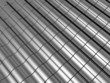 Abstract tiles silver steel background with reflection