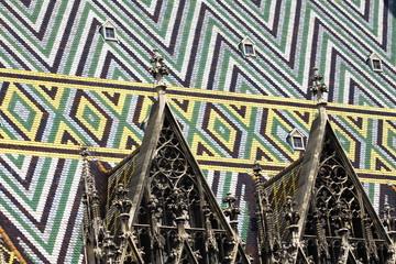 Dachaufbauten-Stephansdom