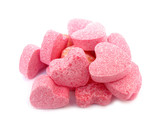 Candies sweet hearts confectionery poster