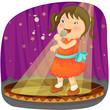 roleta: little girl singing