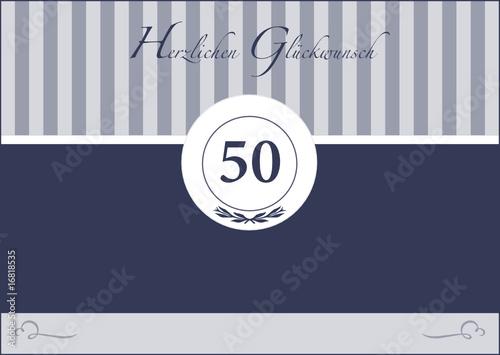 50 Geburtstag - Birthday - Jubiläum