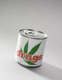 boite de conserve drugs drogue poster