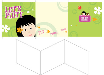 Let's Party Invite/brochure